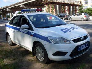 Полицейский автомобиль Форд Фокус